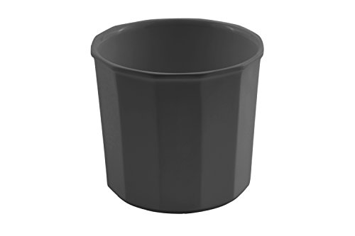Bon Chef 9108BLK Aluminum Prism Salad Dressing Pot, 3-1/2 quart Capacity, 7-1/2