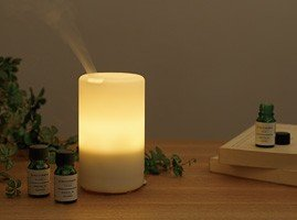 moma muji ultrasonic aroma diffuser home kitchen. Black Bedroom Furniture Sets. Home Design Ideas