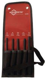 Mayhew Tools MAY-32020 5 Piece Pilot Punch Kit (Punch Kit Pilot)