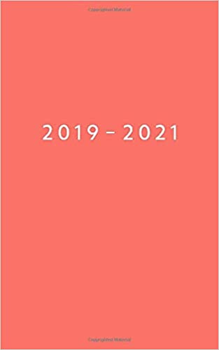 picture regarding May Books Planner titled 2019 - 2021: Weekly Planner Commencing June 2019 - Might 2021