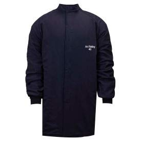 ArcGuard 40 cal Compliance Arc Flash Coat, 3XL, Navy, C04UQUQ403XL32 (C04UQUQ403X32)