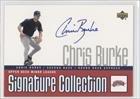Chris Burke Baseball (Chris Burke (Baseball Card) 2002 Upper Deck Minor League Baseball - Signature Collection #CB)