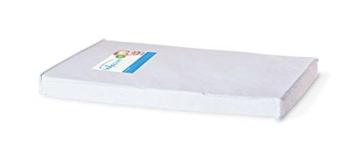 Foundations Worldwide Infapure Compact Crib Mattress, Foam, White, 3'' by Foundations Worldwide