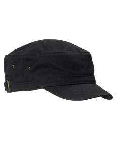 Big Accessories / BAGedge Short Bill Cadet Cap, black, One Size
