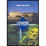 Literature: An Introduction to Reading and Writing. 9th Edition. Central Texas College Custom Edition