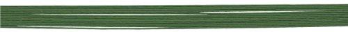 Rayher - 2403729 - Blumendraht, umwickelt, 50 cm, 0,55 mm ø, SB-Btl. 12 Stück, grün