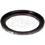 Tiffen 60B77SUR 60 Bay to 77 Step Up Filter Ring (Black) by Tiffen