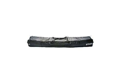 Stage Basic Ski Bag with Silver Trim, Black/Silver