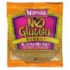 Nana's Cookies Ginger Cookie Gluten Free 3.5 Oz (Pack of 12)