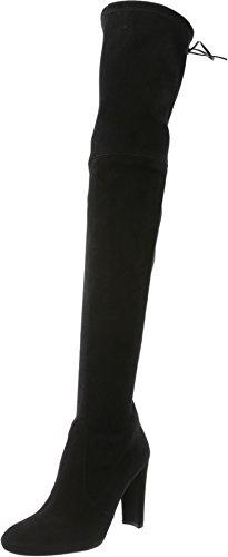 Stuart Weitzman Women's Highland Over-the-Knee Boot, Black,