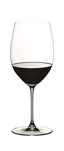 Riedel 6449/0 Veritas Cabernet/Merlot Wine Glasses, Set of 2, Clear