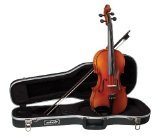 Becker 2000F Viola Outfit 15-Inch, Red-Gold Gloss Finish