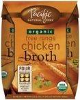 Organic Fee Range Chick Broth, 4Pk/8Oz - 6 Per Case.