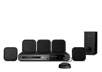 Philips HTS3372D 1000-watt 5.1 DVD Home Theater System (Philips Home Theater System)