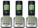 VTech CS6609 Cordless Telephone Handset Expansion (3-Pack)
