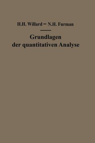 Grundlagen der quantitativen Analyse: Theorie und Praxis (German Edition)