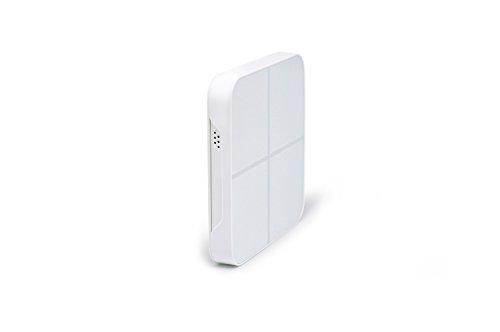 Aeotec WallMote Quad, Z-Wave Plus wireless wall switch, 4 button, 16 scene remote control