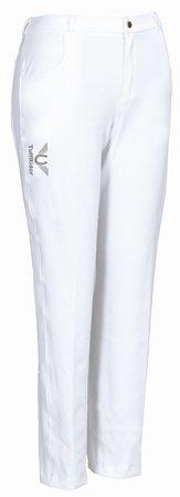 TuffRider Unisex Pro Polo Jeans, White, (Lycra Riding Pants)