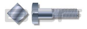 5//16-18X1 3//8 Square Head Battery Bolt Fully Threaded Zinc