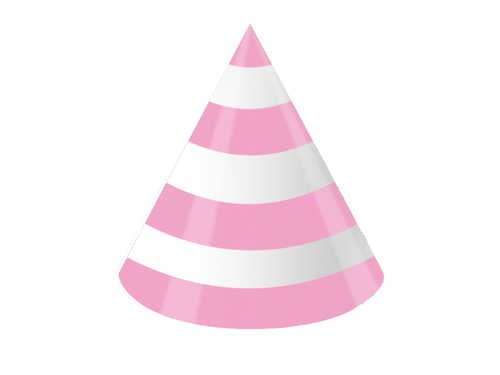 8-Count Birthday Party Hats, Purr-Ty Time (Tiny Party Hats)
