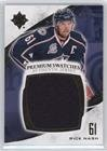 Rick Nash #32/35 (Hockey Card) 2010-11 Ultimate Collection - Premium Swatches #P-RN