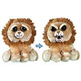 (Feisty Pets- Marky Mischief: Plush Stuffed Lion that Changes Facial Expressions with a Squeeze- by William)