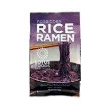Lotus Foods Organic Forbidden Rice Ramen with Miso Soup, 2.8 Ounce - 10 per case.