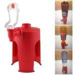 Heightening Bottle Upside Down Plastic Drinks Dispenser (Red)