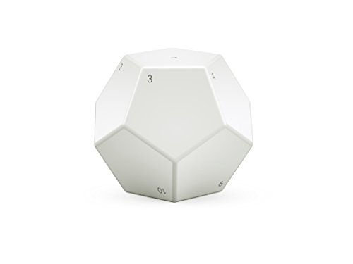Nanoleaf Remote | Programmable Bluetooth HomeKit Remote | Battery Powered | Whiite