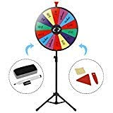 24 Inches Color Prize Wheel with Folding Tripod