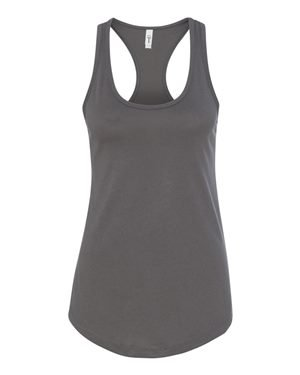 (Next Level Apparel Women's Ideal Racerback Tank - X-Small - Dark Gray)