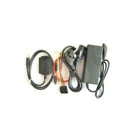VSHOP ® Convertisseur USB pour disque dur IDE ou Sata 2.5 3.5 5.25 avec alimentation VSHOP ® TRACK-A28#4