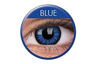 Women Multi-Color Cute Charm and Attractive Fashion Contact Lenses Cosmetic Makeup Eye Shadow Brilliant Blue 3 by Dream TM