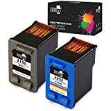 3910 Ink - MIROO Compatible 21 22 XL Ink Cartridges Replacement for HP C9351AN C9352AN DESKJET 3910 3915 3918 3920 3930 3938 3210 D1311 D1320 D1330 D1341 D1360 Printer