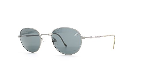 St Dupont D701 6051 Silver Certified Vintage Rectangular Sunglasses For - Dupont Sunglasses