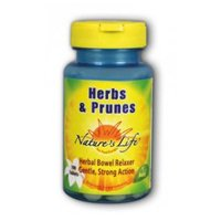 Herbs & Prunes, 100 tabs by Nature's Life (Pack of 3)