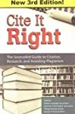 Cite It Right, Tom Fox and Julia Mary Johns, 0977195716