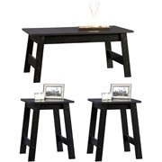 Sauder Beginnings 3 Piece Coffee and End Tables Set - Living Room Office Table Furniture - Sale!