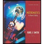Mathematics : Its Power and Utility, Smith, Karl J., 0534386369