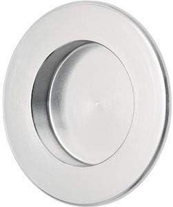 Hermeta Carcasa de la puerta corredera de aluminio anodizado plata aprox. EL.-D. 35mm Hermeta