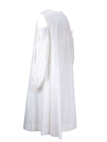 Blanc P Femme D722391z001 o h Robe Coton a r s T0T64q