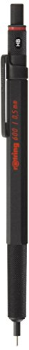 Knurled Grip - Rotring 600 Black Knurled Grip 0.5mm Mechanical Pencil