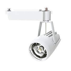 OKAMURA 配線ダクトレール用 LEDスポットライト エコ之助スーパー鮮度クン LED24W 精肉向け ミディアム配光(Mレンズ) 遮光タイプ 高演色高彩度 本体色:白 OECD3SRHN20(Mレンズ)+精肉用フィルター   B07RW5M85G