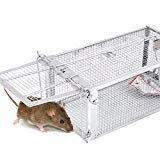 AB Traps Pro-Quality Live Animal Humane Trap Catch and Release Rats Mouse Mice Rodents and Similar...