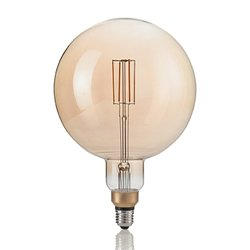 Ampoule décorative grand format filament 4 W LED en E27 Effet Vintage