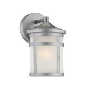 Satin Nickel Porch Lights in US - 7