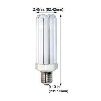 Lights Of America 9166B 65W Quad Mogul Compact Fluorescent Case 6