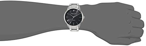Kenneth Cole New York Men's Quartz Stainless Steel Case Genuine Leather/Solid Link Silver Strap,(Model:KC15111005