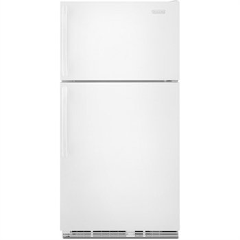 KitchenAid K9TREFFWWH 18.9 Cu. Ft. Top Freezer Refrigerator   White