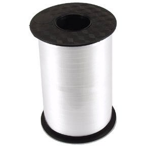 White Crimped Curling Ribbon - 500 -